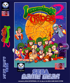 Lemmings 2: The Tribes - Fanart - Box - Front