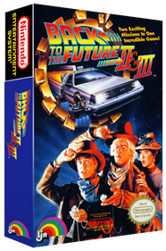 Back to the Future Part II & III - Box - 3D