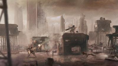 Contra III: The Alien Wars - Fanart - Background