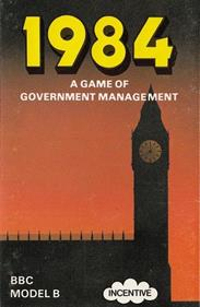 1984: A Game of Government Management