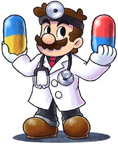 Dr. Mario 64 - Fanart - Background