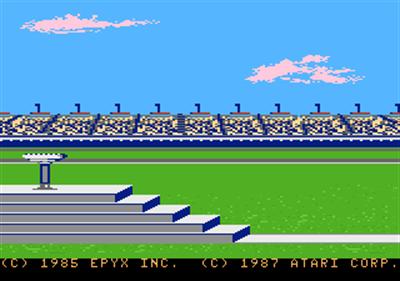 Summer Games - Screenshot - Game Title