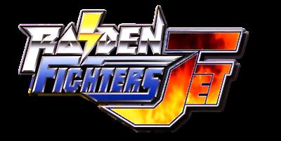 Raiden Fighters Jet - Clear Logo