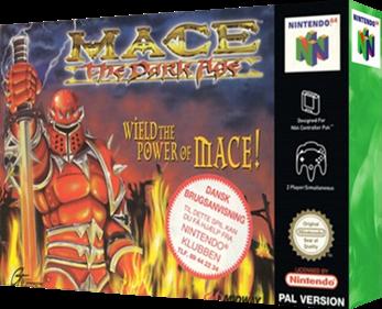 Mace: The Dark Age - Box - 3D