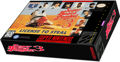 Super Bases Loaded 3: License to Steal - Box - 3D