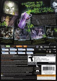 Batman: Arkham Asylum - Box - Back