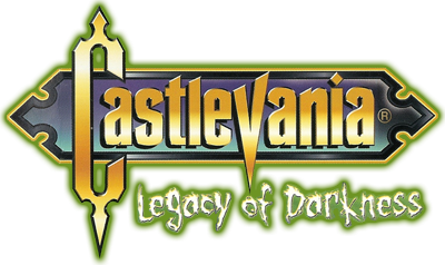 Castlevania: Legacy of Darkness - Clear Logo