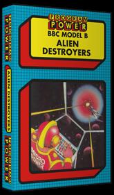 Alien Destroyers - Box - 3D
