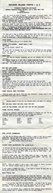 Scott Adams' Classic Adventure #10 & #11: Savage Island