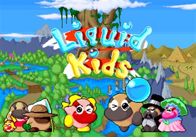 Liquid Kids - Screenshot - Game Title