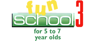 Fun School 3: For 5 to 7 Year Olds - Clear Logo