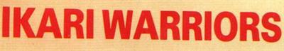 Ikari Warriors (Europe) - Banner