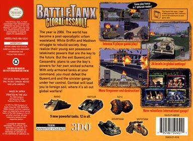 BattleTanx: Global Assault - Box - Back
