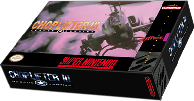 Choplifter III: Rescue-Survive - Box - 3D