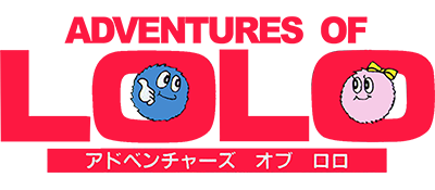 Adventures of Lolo - Clear Logo