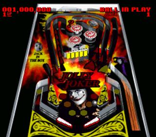 Super Pinball: Behind the Mask - Screenshot - Gameplay