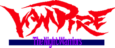 Darkstalkers: The Night Warriors - Clear Logo