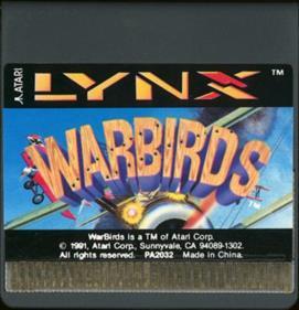 Warbirds - Cart - Front