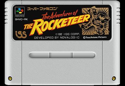 The Rocketeer - Fanart - Cart - Front