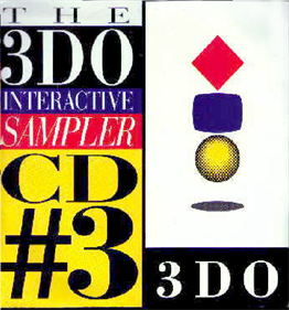 The 3DO Interactive Sampler CD #3 - Box - Front