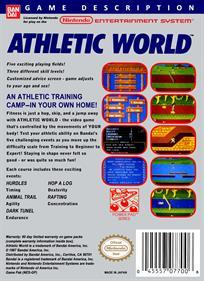 Athletic World - Box - Back