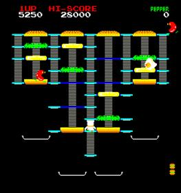 Burger Time - Screenshot - Gameplay