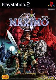 Maximo: Ghosts to Glory - Box - Front