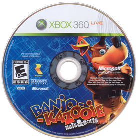 Banjo-Kazooie: Nuts & Bolts - Disc