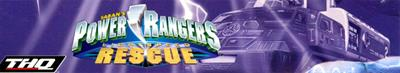 Power Rangers: Lightspeed Rescue - Banner