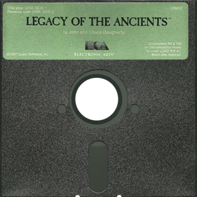 Legacy of the Ancients - Disc