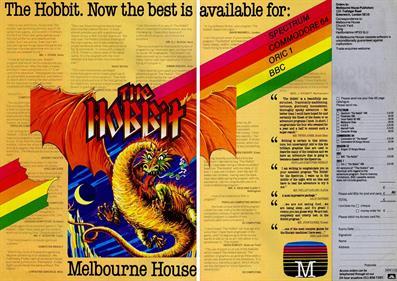 The Hobbit - Advertisement Flyer - Front