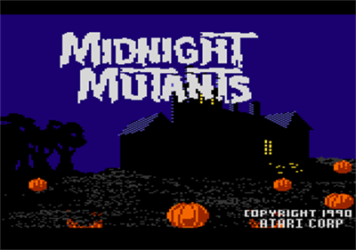 Midnight Mutants - Screenshot - Game Title