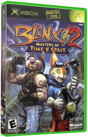 Blinx 2: Masters of Time and Space - Box - 3D