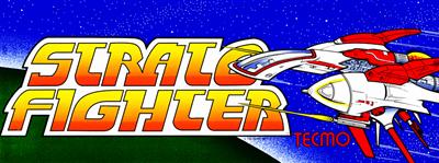 Raiga: Strato Fighter - Arcade - Marquee