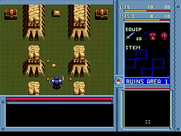 Brandish - Screenshot - Gameplay