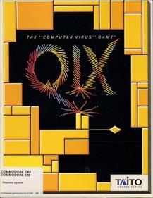 Qix - Box - Front