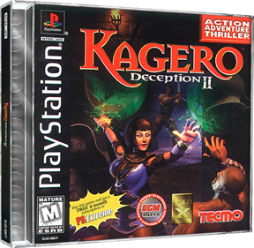 Kagero: Deception II - Box - 3D
