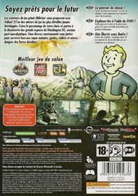 Fallout 3 - Box - Back