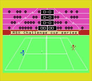 3D Tennis - Screenshot - Gameplay