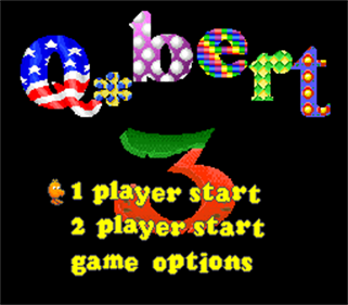 Q*bert 3 - Screenshot - Game Title