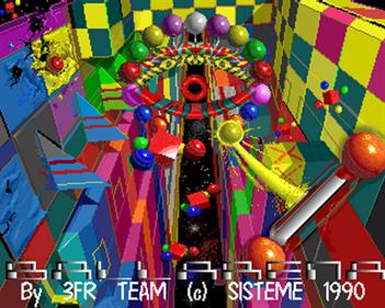 Ballarena - Screenshot - Game Title