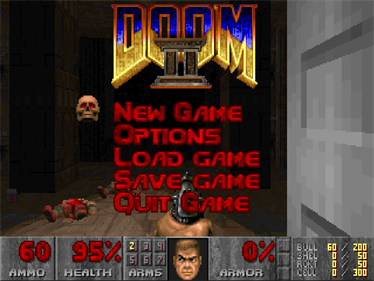 DOOM II - Screenshot - Game Select