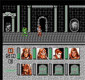 Heroes of the Lance - Screenshot - Gameplay