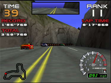 RR64: Ridge Racer 64 - Screenshot - Gameplay
