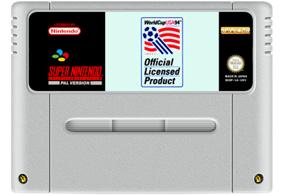 World Cup USA 94 - Fanart - Cart - Front