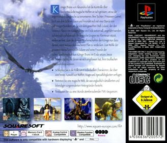 Final Fantasy IX - Box - Back