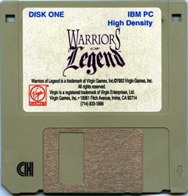 Warriors of Legend - Disc