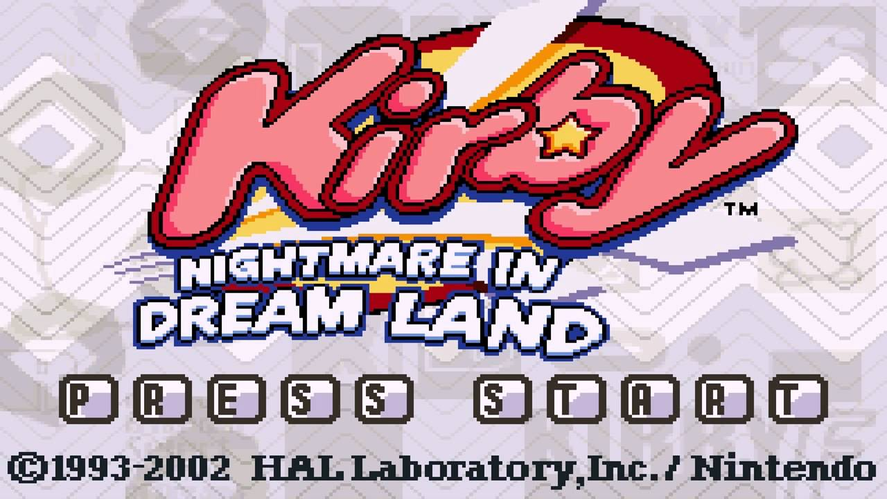 Kirby Nightmare In Dream Land Details Launchbox Games
