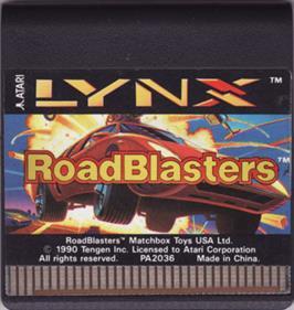 RoadBlasters - Cart - Front