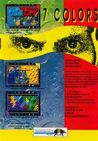 7 Colors - Advertisement Flyer - Front